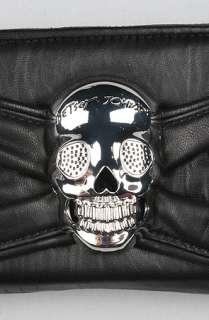 Betsey Johnson The Punk Rock Skull Princess Checkbook  Karmaloop