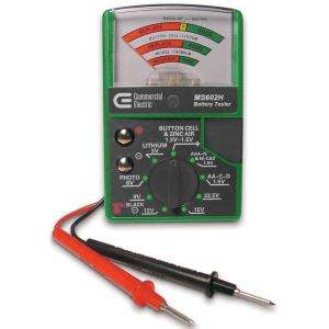 Commercial Electric Battery Tester MS602H