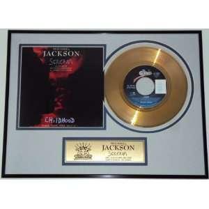 Michael Jackson   Scream Goldene Schallplatte  Küche