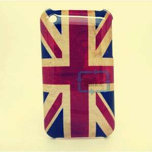 BRITAIN FLAG ENGLAND UK FLAG HARD CASE COVER FOR iPhone 3 3G 3GS