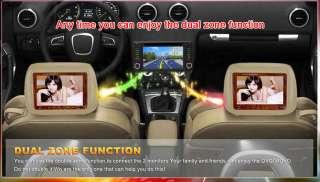 Subaru Forester Impreza DVD GPS Navigation Radio 2 Din Stereo Indash