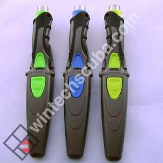 Stainless steel dive knife   drop point   scuba gear
