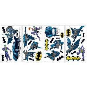 RoomMates Batman Gotham Guardian Peel and Stick Wall Decals RMK1148SCS