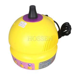 Portable Electric Balloon Pump 1 Nozzle Balloon Party Inflator Blower