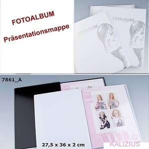 TOPMODEL Top Model Fotoalbum Präsentationsmappe Album W