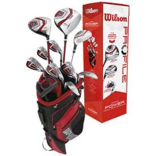 Wilson Power Profile Mens Golf Club Set & Bag New RH