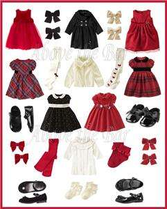 Gymboree Classic Holiday Celebrations Baby/Toddler U Pic 0 3 mo   5T
