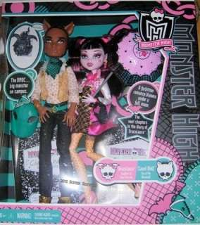 Monster High   Draculaura & Clawd Wolf Doll Giftset by Mattel   Brand