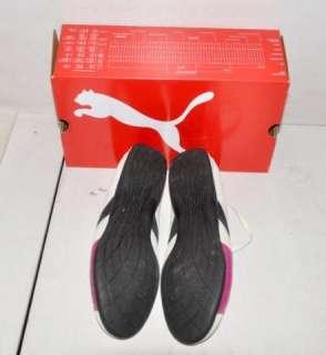 Puma Womens Sneakers Shoes   Jet Cat Lo Sue / White & Fuchsia Size 9.5