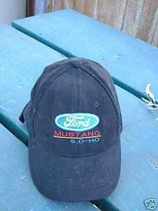 Ball Cap Hat   Ford   Mustang   5.0   HO (H239)