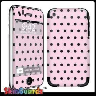 Dot Vinyl Case Decal Skin To Cover Your Apple IPHONE 3G 3GS