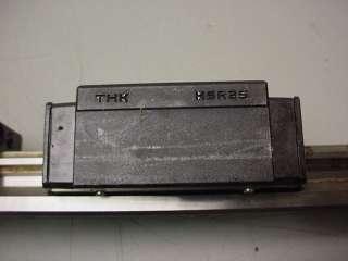 THK CNC LINEAR RAILS & 4 THK HSR25 BEARINGS 610mm