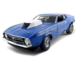 1971 FORD MUSTANG 427 SONC BLUE PRO STOCK 1:18 DIECAST