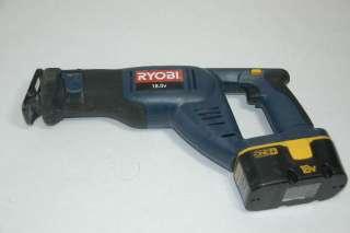 Ryobi 18 Volt 4 Piece Cordless Tool Set Drill, Saw, Light