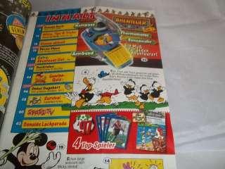 Micky Maus Nr.32 1997 mit ABENTEUER SET TEIL 1 NEU