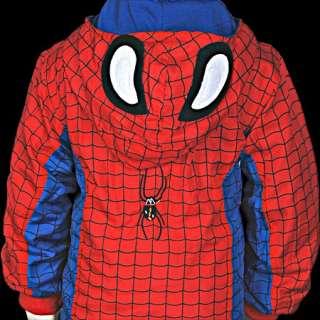 Spiderman Kostüm Hoodie Jacke Hose Kinder Halloween Set
