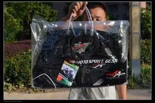PRO BIKER BLACK ARMOR MOTORCYCLE RACING JACKET SPORT BIKE SIZE M/L/XL