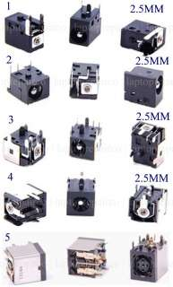 NEW 5X POWER JACK FOR ACER ADVENT HP COMPAQ MEDION IBM