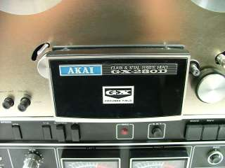 AKAI GX 280D Reel to Reel Tape Recorder Player N/R
