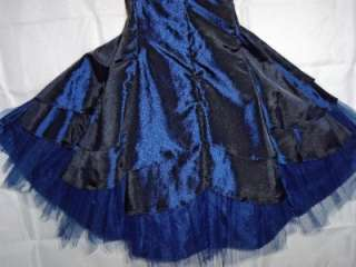 royal navy blue formal dress