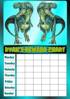 dinosaur reward chart ben ten reward chart