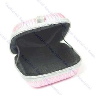 Pink Camera Hard Case Bag Pouch for Canon Sony Nikon Ne