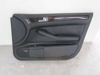 98 04 Audi A6 Front Passenger Door Panel Card BLACK