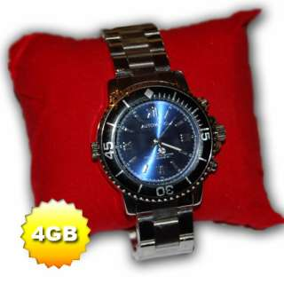Orologio Spia o Spy 4GB scatta Foto e Registra Video 720x480 e Audio