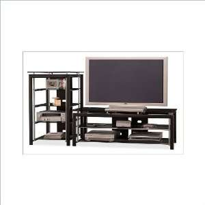 Bush Furniture Midnight Mist 60 Flat Panel TV Stand and