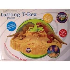 Discovery Channel T Rex Battling Game Toys & Games