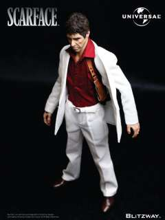 SCARFACE TONY MONTANA on Chair 1/6 12 BLITZWAY PRECO