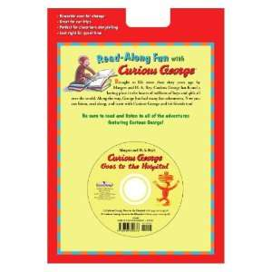 Curious George Goes To Hospital Set Of 4 Books and 1 CD