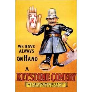 We Have Always on Hand a Keystone Comedy: Western Import