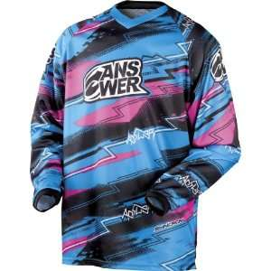 ANSWER SYNCRON YOUTH MX MOTOCROSS JERSEY PINK/BLUE SM