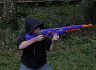 ThinkGeek :: NERF Longstrike Sniper Rifle