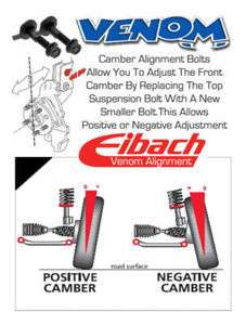 Eibach Front Camber Bolts   VW Lupo   6X (98 05)  