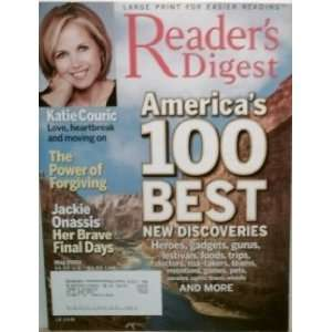 Readers Digest, May 2004, Large Print, Katie Couric [Single Issue