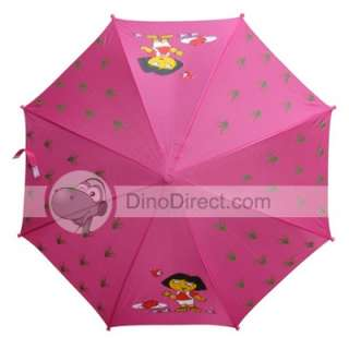 Wholesale Cartoon Children Long Handle Rain Sun Umbrella   DinoDirect