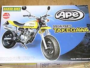 Aoshima 1/12 Takegawa Honda Model Motorcycle Bike Kit