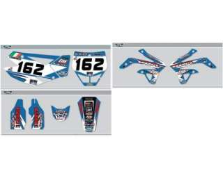 Adesivi grafiche completo motocross TM 125 250 450 MX1 world champion
