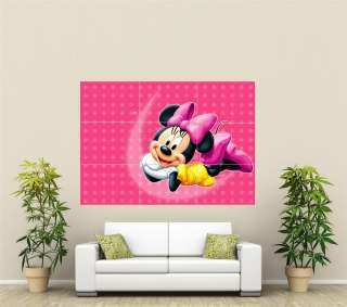 Minnie Mouse Giant Wall Art Poster CR126