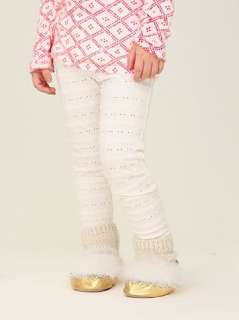 Wee People Textured Floral Leggings at Free People Clothing Boutique