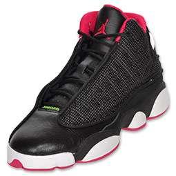 Air Jordan Retro 13 Kids Basketball Shoe  FinishLine  black