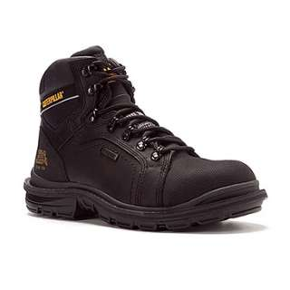 Cat Footwear Manifold Waterproof Tough ST EH  Mens   Black Steel Toe