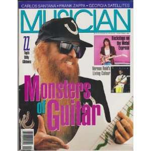 1988) (ZZ Tops Billy Gibbons   Monsters of Guitar) Jack Baird Books