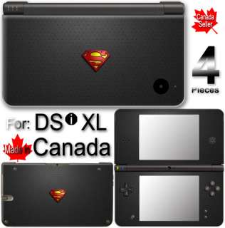 Superman Logo Arts VINYL SKIN COVER for NINTENDO DSi XL