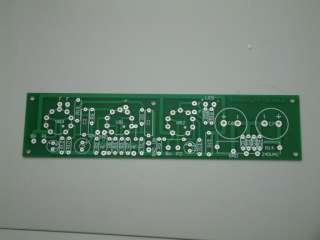 Davidyee Audio PCB board 6BQ5 12ax7 Stereo SE tube amp.