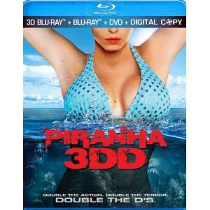 Piranha 3DD [Blu ray]: Danielle Panabaker, David Koechner