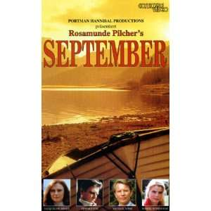 September [VHS] Jacqueline Bisset, Edward Fox, Michael