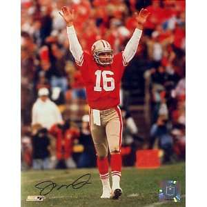 Joe Montana San Francisco 49ers   Celebration   8x10